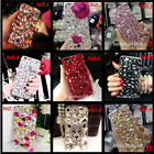 crystal clear tv - Jewelled Bling Crystal Diamonds Soft TPU Phone back Case Cover & neck strap #16