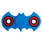 Yellow Fidget Hand Finger Spinner Bat Batman EDC ADHD GYRO Pocket Toy 5S