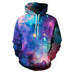 Couples Space Galaxy 3D Graphic Print Hoodie Sweater Sweatshirt Jacket Pullover