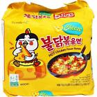 Внешний вид - 1, 2, 5 Packs Samyang Cheese Hot Chicken Korean Ramen Mukbang Challenge