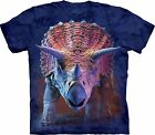 Charging Triceratops T Shirt Child Unisex The Mountain
