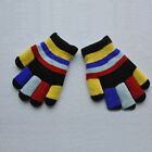 Fashion Childrens Magic Gloves Girls Stretchy Winter Kids Cute Double Layer