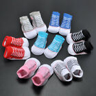 New Girl Boy Shoes Baby Sole Crib Shoes Toddler Sneakers PU Leather Shoes 0-18M