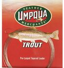 Umpqua Trout Pre-Looped Tapered Leader 9 ft,  5X 5 lb.