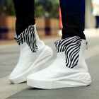 Men's High Top Sneakers Ankle Boots thick sole Skateboard Casual Shoes Fashion