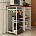 microwave oven cart - Kitchen Islands Storage Cart Microwave Oven Rack Utility Workstation Stand Shelf