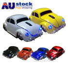 2.4Ghz wireless Mouse VW Beetle Car Mice Bug for Laptop PC +USB Receiver Gift AU