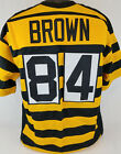 Antonio Brown Unsigned Custom Sewn Bumblebee Football Jersey Size - L, XL, 2XL