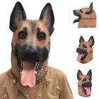Full Head Creapy Face Realistic Dog 17 Animal Halloween Mask Scary Party Costume
