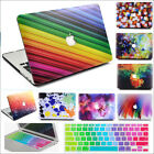 "2in1 Multi-Color Colorful Printed Matte Case for MacBook AIR PRO 11"" 13""15""+2016"