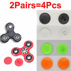 2Pair=4Pcs Plastic 608 Bearing Colorful Caps For Hand Spinner Fidget Toy 7Colors