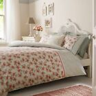 Emma Bridgewater Floral Bedding 100% Cotton STRIPED ROSE Duvet Cover Set Cushion