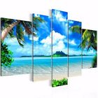 3Pcs/5Pcs Unframed Modern Printed Canvas Oil Painting Abstract Home Wall Decor