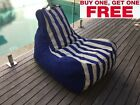 Ria Bean Bag Chair Lounger - BUY ONE GET ONE FREE - Indoor Outdoor Sofa
