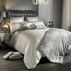 Glitter Fade Silver Designers Bedding Collection  by Kylie Minogue At Home