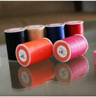 Professional 3 Strands Waxed Lined Thread 0.65mm 85M hand sewing leathercraft
