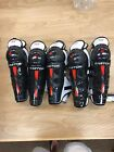 """Easton Synergy HSX Youth Shin Pads 12"""", 13"""" NEW"""