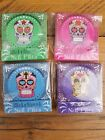 Mini Matchstick Nail Emery Boards ~ Day Of The Dead Skulls Nail File Christmas