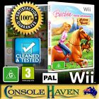 (Wii Game) Barbie Horse Adventures: Riding Camp (G) PAL, Guaranteed, Cleaned