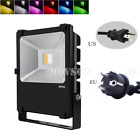 2.4G Milight 40W 64W RGBW Warm Cool White LED Outdoor Floodlight Light with Plug