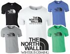 GAME OF THRONES T SHIRT - NORTH WALL - MENS XMAS GIFT 5 COLOURS S - XXL