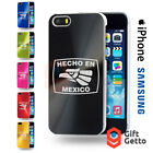 Hecho En Mexico Music Band Logo Engraved CD Phone Cover Case - iPhone & Samsung