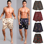 Men's Silk Casual Sleepwear Loungewear Night Lounge Pants Shorts Sleep Bottoms