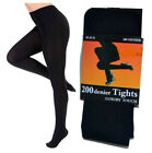 New Ladies 200 Denier Soft Touch Luxury Super Thick Winter Warm Comfort Tights