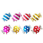 Candy Stripe Foil Balloon Wedding Celebration Party Helium Balloon Decor Crafts