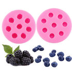 Silicone Blueberry Raspberry Fondant Mold Chocolate Cake Decoration Mould C