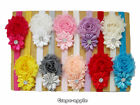GPE Hot Sale Baby Children Flower Toddler Girl Headband Clips Hairband Hair Band