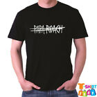 New Papa Roach Rock Band Logo Men's Black T-Shirt Size S to 3XL