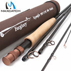 """Maxcatch #4 #5 Fly Rod 9'-10'6"""" / 9'6''-11'0'' Fly Fishing Rod Extension Section"""