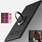 Metal Magnetic Finger Ring Holder Buckle Cover For Samsung Note 8 S8 + Soft Case
