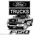 Licensed  F150 Ford Pickup truck  SLEEVELESS T-Shirt SM To 3XL Asst. Colors