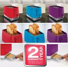 Morphy Richards 2 Slice Wide Slot Toaster With Crumb Tray 2 Year Guarantee New
