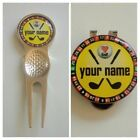 anneys - PERSONALISED luv golf range - 4 options - (24mm ball markers)yellow.