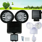 security light sensor settings - Dual Security Solar Powered Motion Sensor 22 60 100 LED Light Outdoor Lot Sale Q