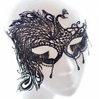 17Styles Black Lace Eye Face Mask Masquerade Ball Prom Halloween Costume Party