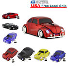 US Gift Cordless 2.4Ghz Wireless Optical Car Mouse PC Laptop Mice + USB Receiver