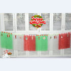 Christmas Party Table Skirt Fringe Tassel Tableware DIY Decoration Supplies