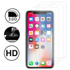 Displayschutzfolie Hartglas Rand Gebogen Apple Iphone X 5.8 */ Iphone
