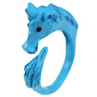 Girl Alluring Candy Color Unicorn Finger Ring Enamel Horse Party Jewelry RingW&S