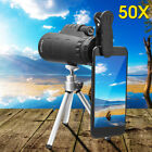 50X HD Zoom Optical Lens Camera Monocular Telescope For iPhone 8/X/7 Samsung S8