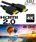 CAVO HDMI 4K 3D 2.0 60Hz PER TV VULTECH SCEGLI TRA 1,8 5 10 20 METRI NEW MODEL !