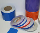 """1/2"""" x 30 ft Roll Vinyl Pinstriping Vinyl Striping Tape 25 Colors Available"""