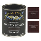 General Finishes Water-Based Semi-Gel Wiping Wood Stain, 16 Colors (Pint, Quart)