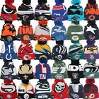 New Era NFL LOGO WHIZ 3 Sport Knit Pom Pull On Team Beanie Hat Cap Team Colors
