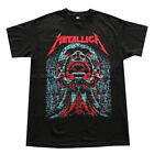 Metallica Screaming Head Red Logo Men's T- Shirt Black image