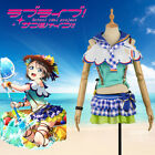 Love Live! Sunshine!! Watanabe You Beach Awakening Dress Cosplay Costume Custom